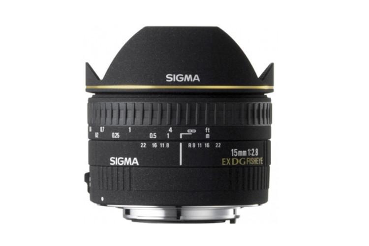 Sigma 15 F2.8 EX DG Fisheye (Canon) 80043399 (kaucja: 1950zł)
