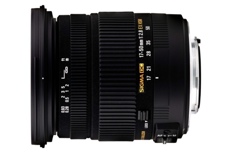 Sigma 17-50 F2.8 EX DC OS HSM (Canon) 80043384 (kaucja: 310zł)