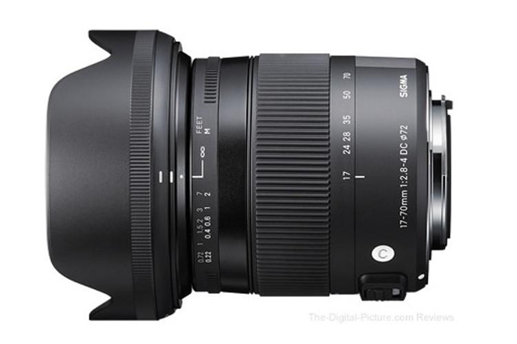 Sigma 17-70mm f/2.8-4 C DC HSM Macro (Nikon) 80043386 (kaucja: 1220zł)
