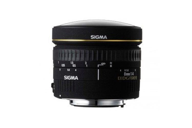 Sigma 8mm F/3.5 EX DG Circular Fisheye (Nikon) 80043397 (kaucja: 2380zł)