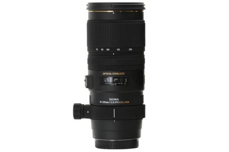 Sigma 70-200mm f/2.8 APO EX DG OS HSM (Canon) 80043422 (kaucja: 840zł)