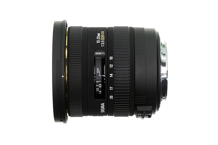Sigma 10-20mm f/3.5 EX DC HSM (Canon) 80043381 (kaucja: 1750zł)