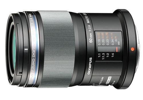 Olympus M.Zuiko Digital ED 60mm 1:2.8 Macro (czarny) 80048388 (kaucja: 1510zł)