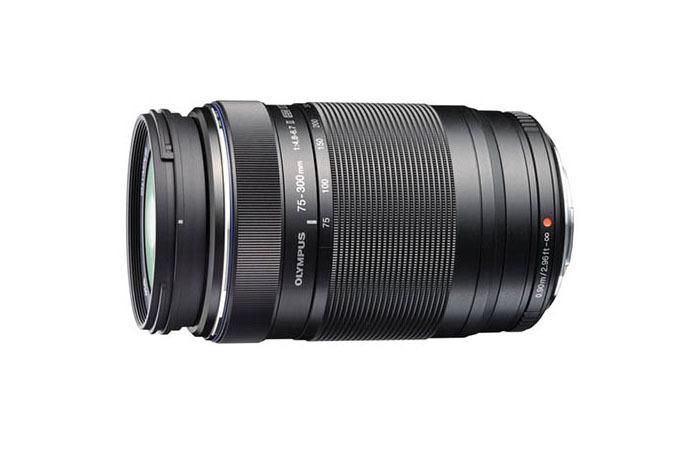 Olympus M.Zuiko Digital ED 75-300mm F4.8-6.7 Ⅱ (czarny) 80048385 (kaucja: 1650zł)