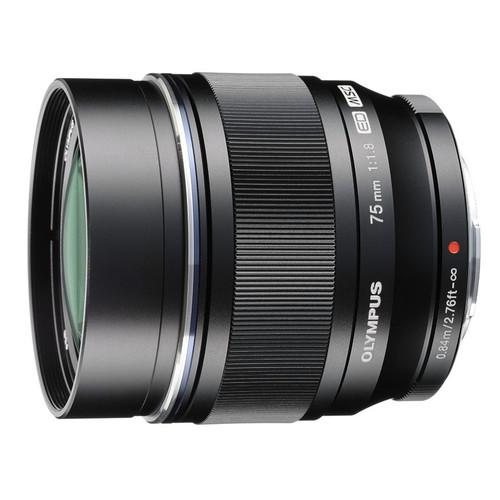 Olympus M.Zuiko Digital 75 mm f/1.8 ED (czarny) 80048403 (kaucja: 3010zł)