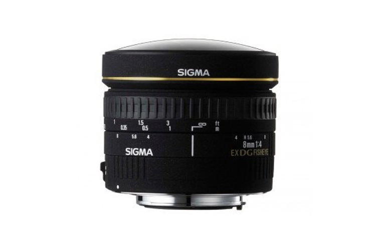 Sigma 8mm F/3.5 EX DG Circular Fisheye (Canon) 80043395 (kaucja: 2380zł)