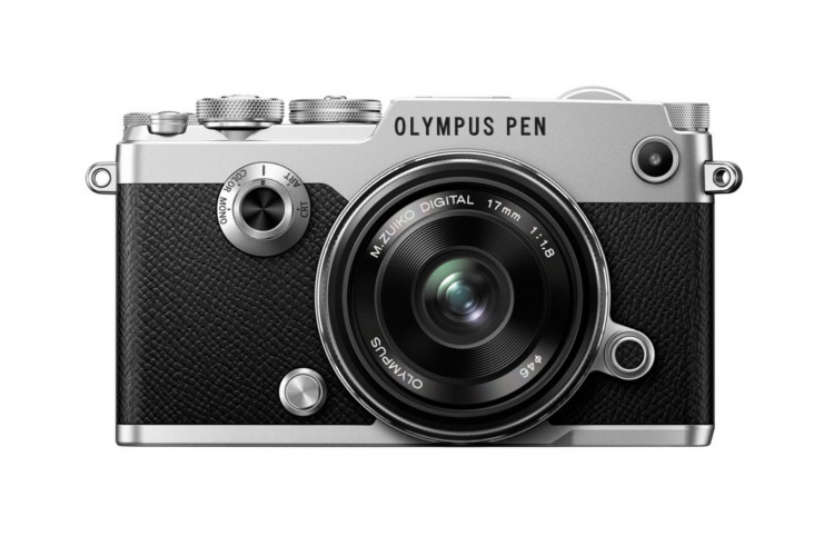 Olympus PEN-F (srebrny) z ob. 17mm f/1.8 (czarny) 80048371 (kaucja: 1300zł)
