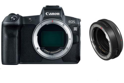 Canon EOS R body + Adapter EF-EOS R EU26 80107353 (kaucja: 3000zł)