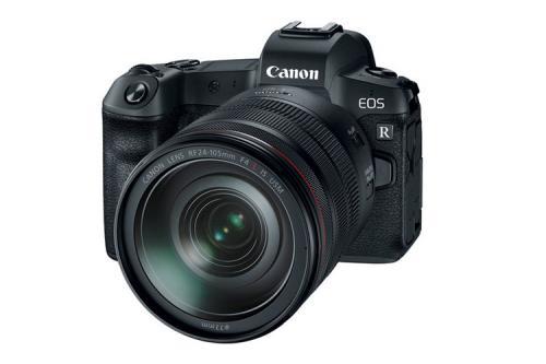 Canon EOS R body z ob. Canon RF 24-105mm f/4 L IS USM + Adapter EF-EOS R EU26 80131252 (kaucja: 4200zł)